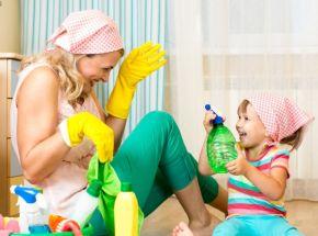 Limpar e organizar, com seu filho é só começar.
